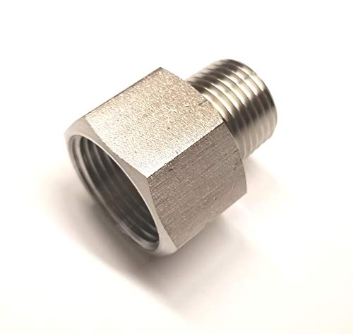 Stainless Steel Adapter Reducer Nipple 1/2