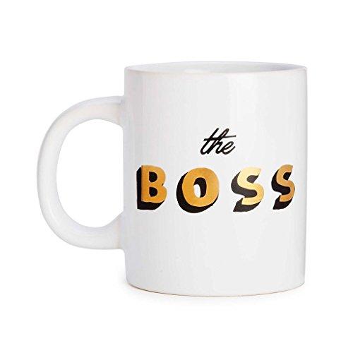 Ban.do Hot Stuff Ceramic Mug The Boss Thermal Mug, - Ban Hot
