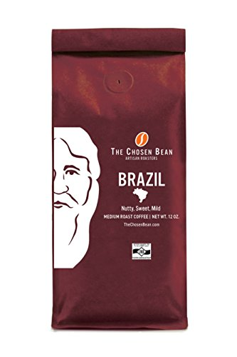 Brazil - Fazenda Serrinha Single Origin Micro Roasted Medium Roast Specialty Coffee (Ground, 12 oz) - Exotic Natural