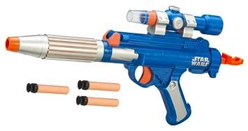 Nerf Star Wars Poe blaster Glie44 custom Cosplay Prop painted Replica  Realistic Artwork