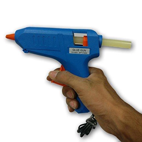 Tools Centre 100w Glue Gun with Free 15pcs Glue Sticks & Safety Gloves.