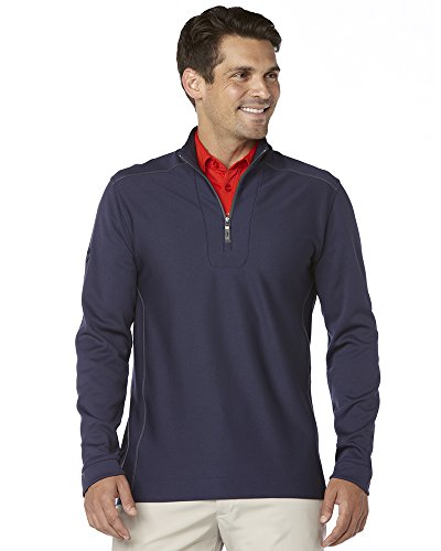CALLAWAY MEN'S MID-LAYER PULLOVER, Peacoat Navy, Large by Callaway