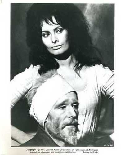 Sophia Loren Peter O'Toole Man Of La Mancha Original 8x10