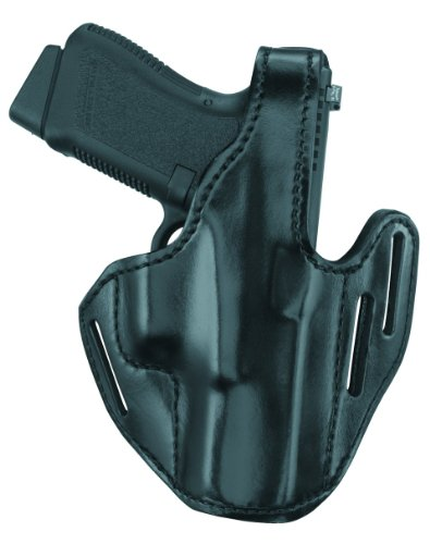 - Gould & Goodrich B733-G19 Leather Three-Slot Pancake Holster (Black) Fits GLOCK 19, 23, 32
