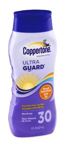 (Coppertone UltraGuard Sunscreen Lotion SPF 30 8 oz (Pack of 9))