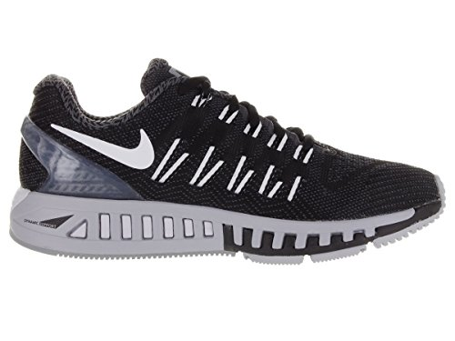 Nike Damen Wmns Air Zoom Odyssey Laufschuhe Schwarz (Schwarz/Weiß-Wolf Grau-Drk Grau)