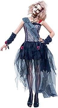 Partilandia Disfraz Zombie Reina del Baile para Mujer (L): Amazon ...