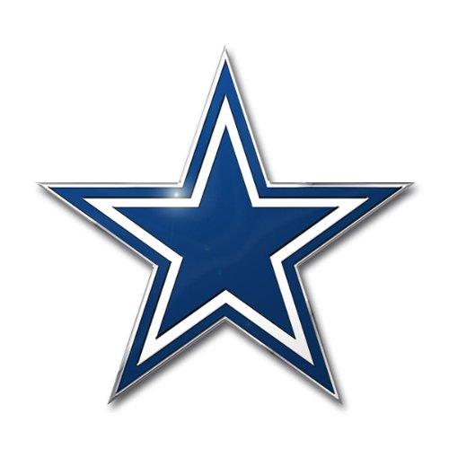 NFL Dallas Cowboys Die Cut Color Automobile Emblem