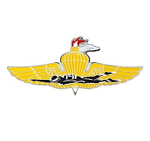 US Marine Corps FORCE RECON, RECON MARINEs Insignia Large Badge Pin (USMC)