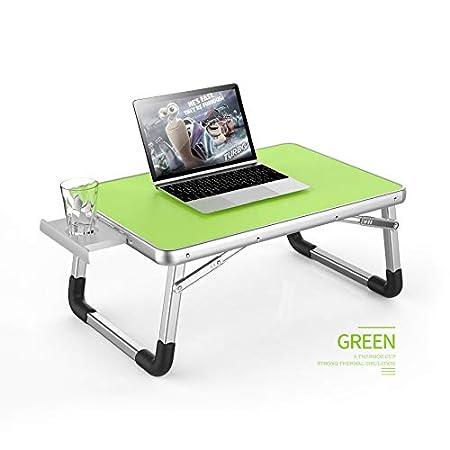 Qinkdesk Laptop Mesa portátil Plegable Plástico Ligero Mesa ...