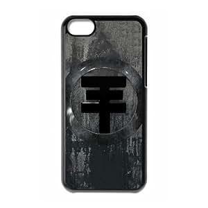 Printed Cover Protector iPhone 5C Cell Phone Case Black Tokio Hotel Ptlyq Unique Design Cases