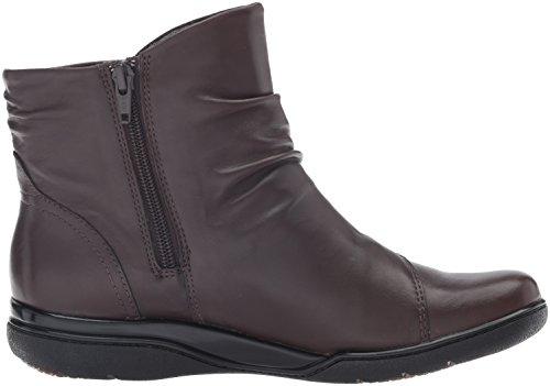 Kearns Dark Women's CLARKS Burst Brown Boot 8w41RFq