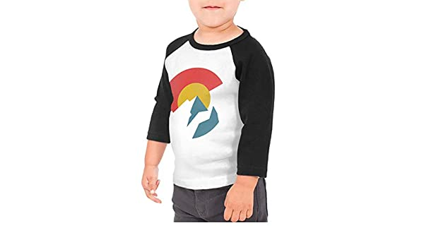 Yimo Dog 1 Unisex Toddler Baseball Jersey Contrast 3//4 Sleeves Tee