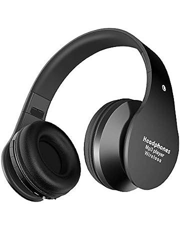 Auriculares Inalámbricos Bluetooth con Micrófono Hi-Fi Deep Bass Auriculares Inalámbricos Sobre El Oído,