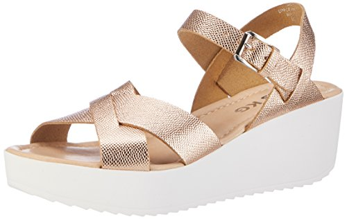 Miss KG Parker - Sandalias con Cuña Mujer Gold (Gold)