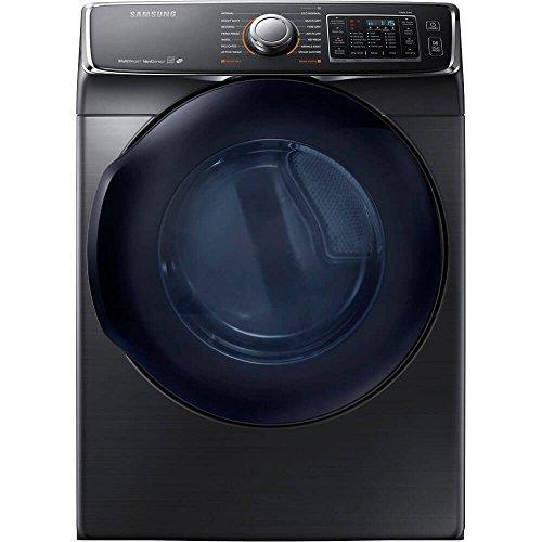 Price comparison product image Samsung DV50K7500EV DV50K7500EV 7.5 Cu. Ft. Electric Black Stainless Front Load Steam Dryer