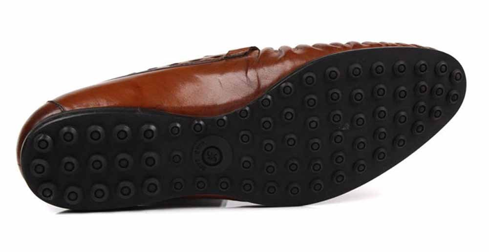 GLSHI Herren Business Kleid Schuhe New Oxford Oxford Oxford Britische Arbeit Lederschuhe Mode Fahren Schuhe 1284e4