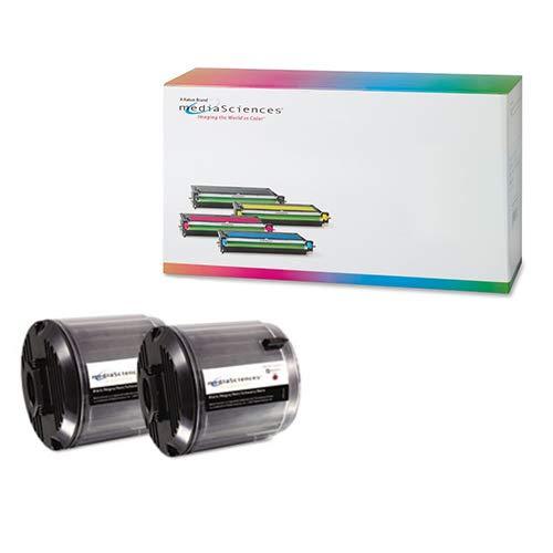 Media Sciences MSDMS300KK Black Toner Cartridge (2/PK-2000 Page Yield) - Compatible for Samsung CLP-P300B ()