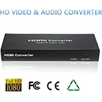 HDMI to VGA / YPBPR Converter Adapter HD Video Audio Converter
