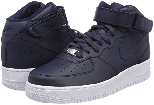 obsidian 415 Mid Nike white obsidian Air Basket Scarpe Blu Da 1 Uomo Force '07 wxRTxfvq