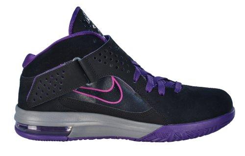 Nike Heren Lebron Air Max Soldaat V Basketbalschoenen-zwart / Paars-11