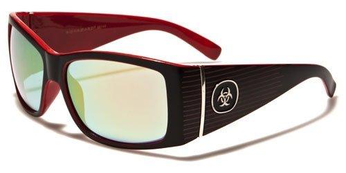 Biohazard Optics New Mens Driving Riding Stylish Retro Sunglasses - Sunglasses Biohazard