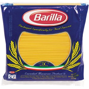 Barilla Semolina Linguine Pasta 2 Pack - 10 Lbs Each