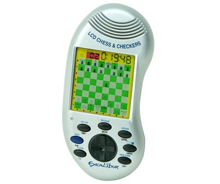 Lcd Chess & Checkers (Handheld Checkers)