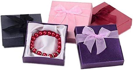 Cajas de Pulsera de joyería de 12 Piezas Cajas de Regalo cuadradas para Cajas de Pulsera y Brazalete Cajas de joyería de cartón de Color Mixto 9x9x2 mm 9x9x2 7 cm: Amazon.es: