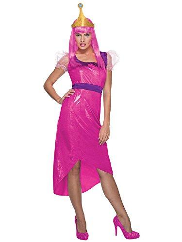 (Rubie's Women's Adventure Time Princess Bubblegum Costume, Pink,)