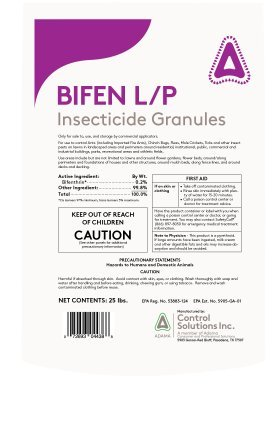 Bifen Granules-25 pounds 737049 by Control Solutions