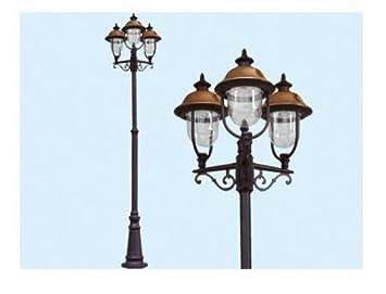 Lampione verona luci su palo lampione lanterne illuminazione