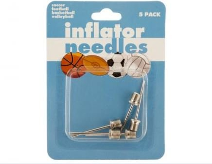 K&A Company Air Ball Inflator Needle Sports Pump Case of 96 by K&A Company
