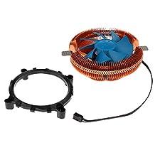 MonkeyJack CPU Cooler Radiator Heatsink Quiet for AMD/AM2/AM2+/AM3 Intel LGA 1155/1156