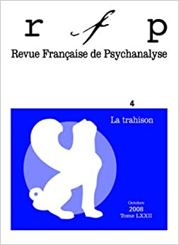 Book Revue Française de Psychanalyse, N° 4 (French Edition)