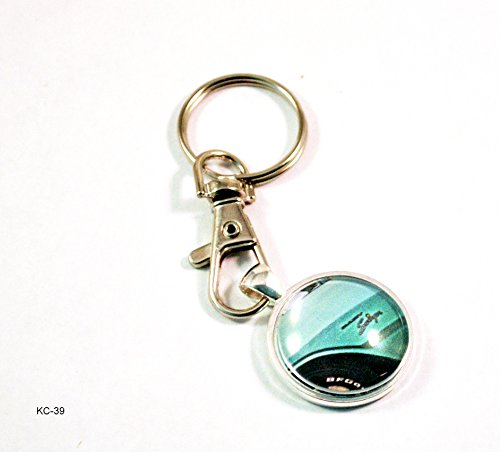(Dodge Dart Swinger Muscle Car Rod Ford Key Chain with Clasp)