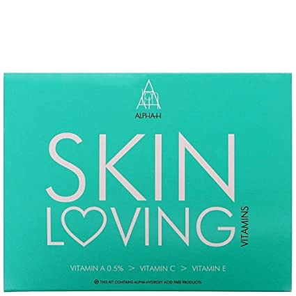 Alpha-H piel Loving 0.5% Vitaminas Kit, Vitamina A/C y E