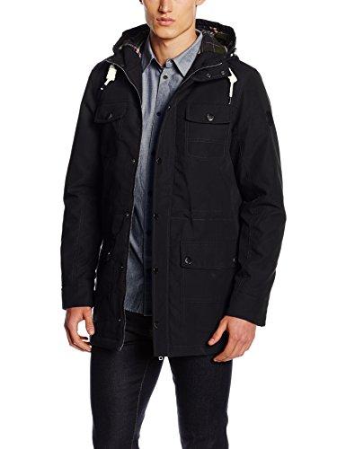 Rider solid Blouson Noir Jacket black Homme 8qUCq