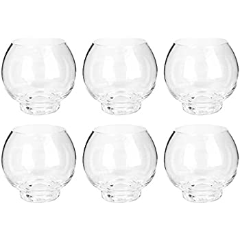 Amazon Com Glass Candle Cup Clear 2 5 X 2 375 Inches