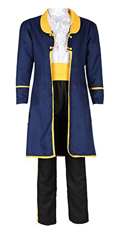 Mens Prince Charming Costume Uniform for Adult