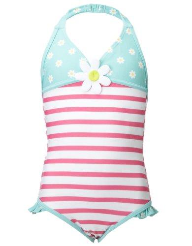 Accessorize Girls Daisy Halterneck Swimsuit