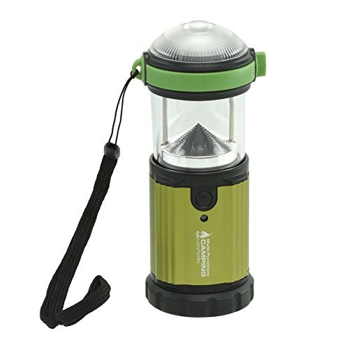 Domeiki 185 Lumens Cree-XLamp Lantern Camping Hiking LED Doomsday Prep Water Resistant