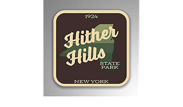 Hither Hills State Park Decal Sticker Explore Wanderlust Camping Hiking