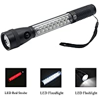Maxout Emergency Tactical Flashlight w/Magnet