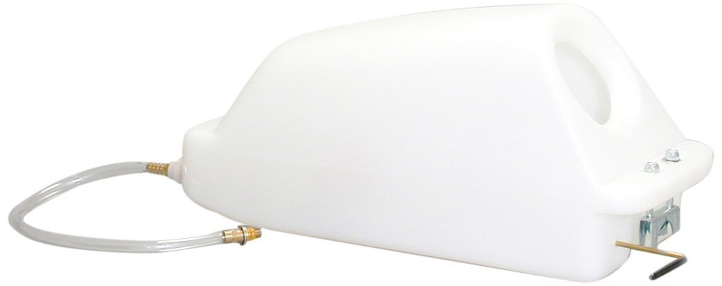 Sandia 40-1000 Solution Tank with Super-Drain Valve, 4 gal, Standard White