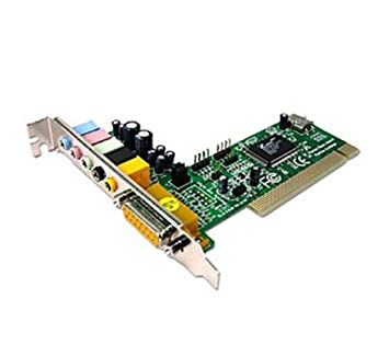 Dynamode S-PCI-6WCH - Tarjeta de sonido interna (24 Bit, 5.1, PCI)