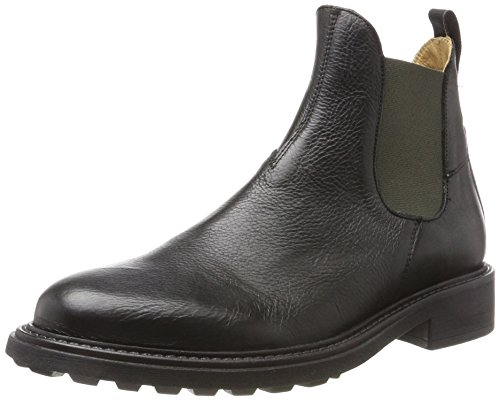 Mens H by Hudson Caslon Calf Suit Work Office Casual Leather Ankle Boots Black 2I4yHBCeBz
