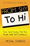 From Shy to Hi: Tame Social Anxiety, Meet New People and Build Self-Confidence: Volume 5 (How to Change Your Life in 10 Minutes a Day)