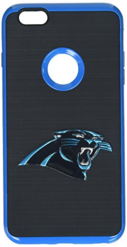 MIZCO SPORTS iPhone 6 Plus/6S Plus Flex Sideline Case for NFL Carolina Panthers