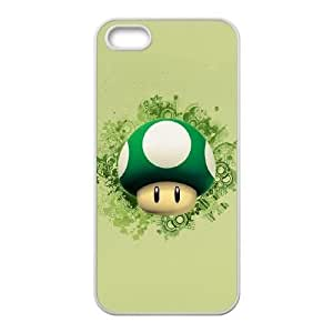 iPhone 5, 5S Cases Cell phone Case Super Mario Bros Gsyma Plastic Durable Cover